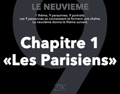 Le neuvième : 1. les Parisiens