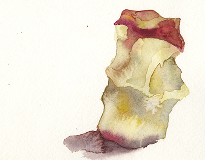 Snacking on Watercolors