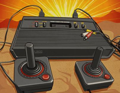 Atari On The Rocks