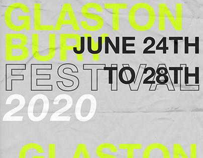 GLASTONBURY 2020 - AD - POSTERS