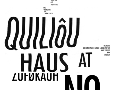 Significant Nonsense: Typography