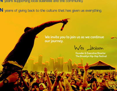 2014 Brooklyn Hip-Hop Festival Sponsorship Deck