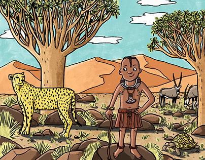 Joy to the world magazine- Namibia