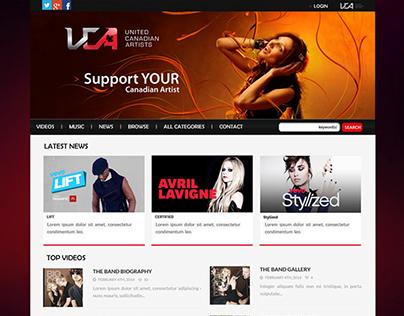 UCA - Branding | Website