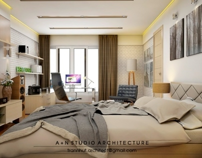 Bedroom  Interior | A+N Studio