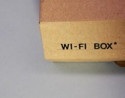 Cardboard Wifi Router