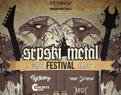 Serbian Metal Festival poster