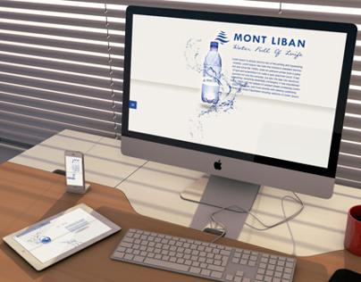 Mont Liban Water Company, website design