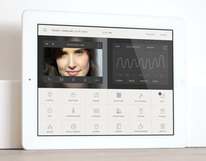 Concept Homesystem app ONOZO