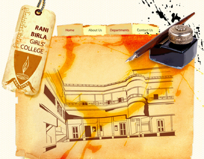 Rani Birla Girls' College Website