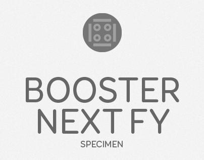 BoosterNext FY Specimen
