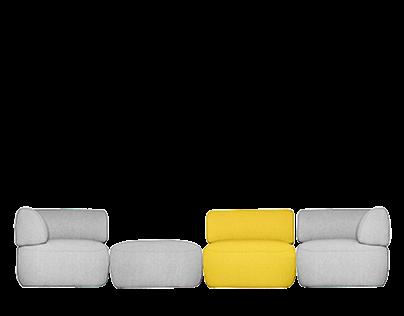 IWOODLIKE Panda sofa
