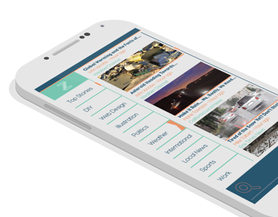 Zite Mobile Application Redesign