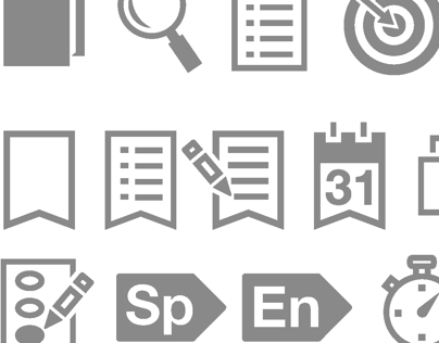 Design of Task Icons for iPhone App