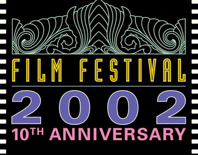 SLO International Film Fest 10th Anniversary Brochure