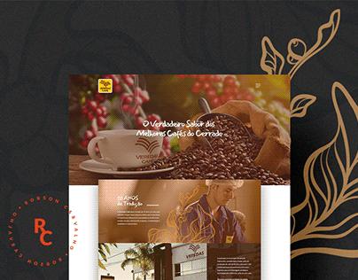 Website Veredas Café