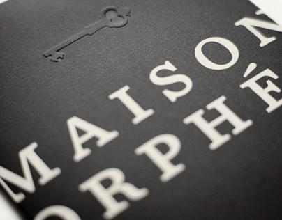 Maison Orphée |Branding | lg2boutique