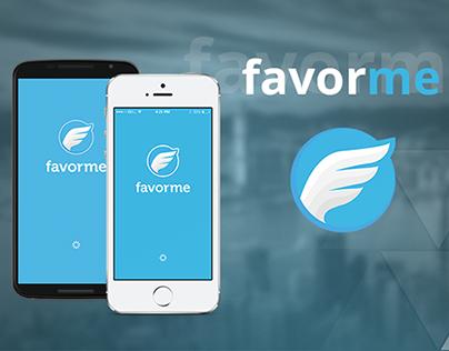 Дизайн мобильного приложения favorme v.2.0