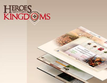 Web based game :: Might & Magic : Heroes Kingdom