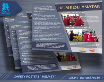 Safety Poster's Design (Inkpala)