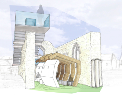 YR 2//Project 1 SPACE AND FORM: Monks Abbey Folly