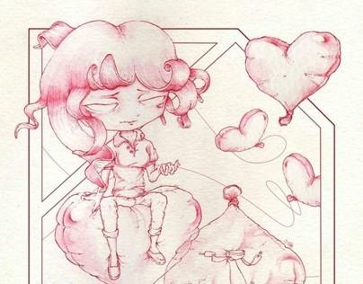 Valentines Postcard Project 2014