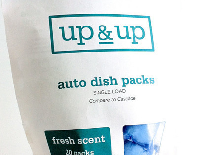 UP & UP RE-BRAND