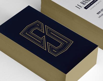 JFR Business Card & Logo Design
