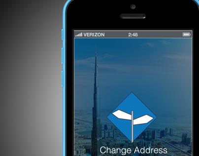 Change Of Address App | Dubai