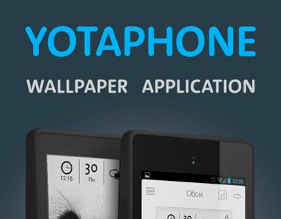 Yotaphone Wallpaper App