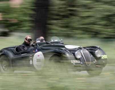 Jaguar Heritage at Mille Miglia 2013