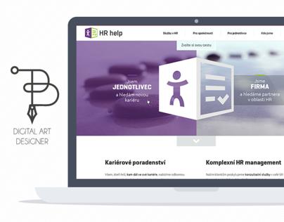 Logo a webdesign pro HRhelp - výběrové řízení