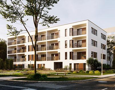 Residential building in Poland (FULL CGI)