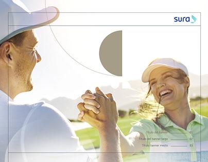 SURA México investment, portal responsive web design.