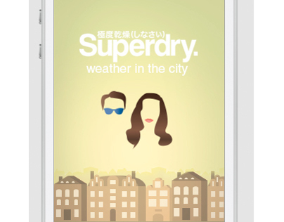 Weather in the city - Concept App for Superdry