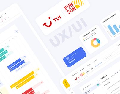 TUI Online store Marketing & Advertising Dashboard