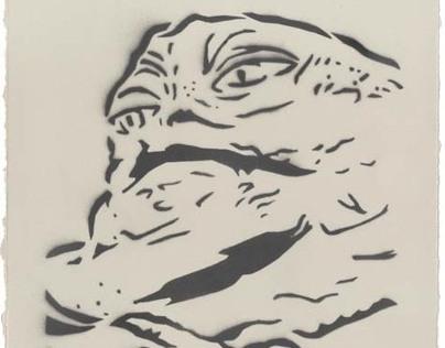 Printmaking Series: Propaganda from Far, Far Away