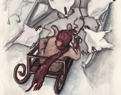 Snow queen illustrations / Снежная королева Иллюстрации