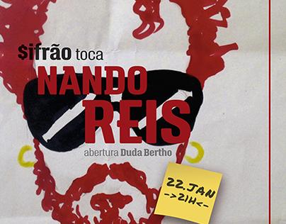 Tribute Gig Posters - Nando Reis