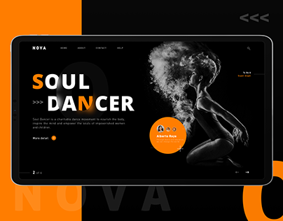 Soul Dancer - Weekly UI Practice - 01