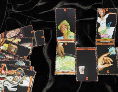 Santeria alphabet cards