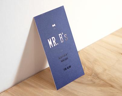 Mr. B's / Registry book & Cards