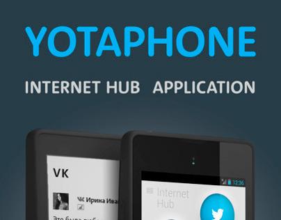 Internet Hub App
