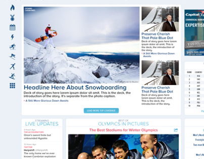 Winter Olympics Events Package