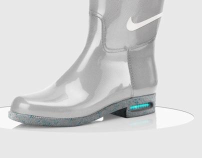 Nike Marty McFly Rainboots