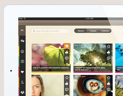Bloom iPad App