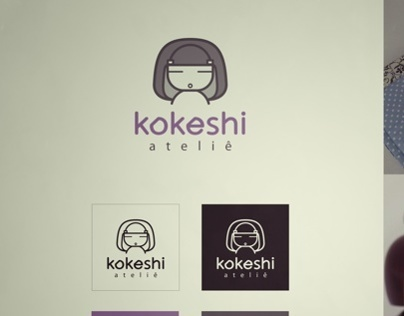 Logo Atelie Kokeshi