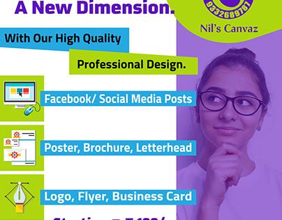 Social/ Banner/ Flex Design