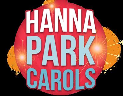 Hanna Park Carols - Logo and Collatoral