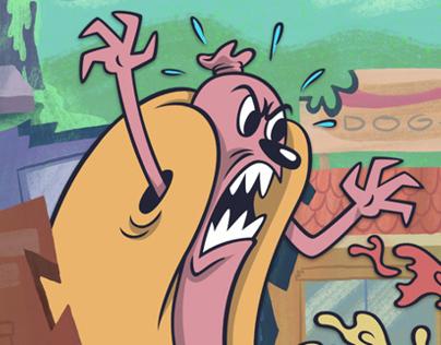 Hot Dog Attack!